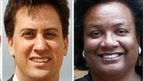 Ed Miliband and Diane Abbott