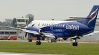 Eastern Airways plane landing at Southampton Airport