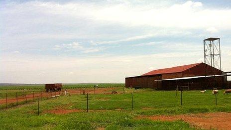 Derrick Allem's farm