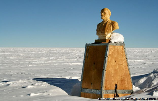 Lenin at the Pole of Inaccessibility