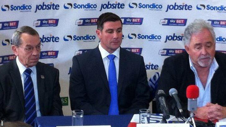 Portsmouth manager unveiling