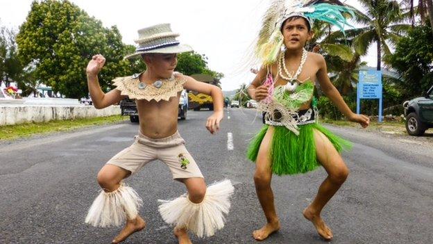 Cook island boys