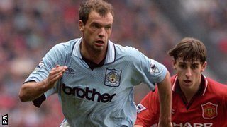 Uwe Rosler, Manchester City chased by Gary Neville, Manchester United
