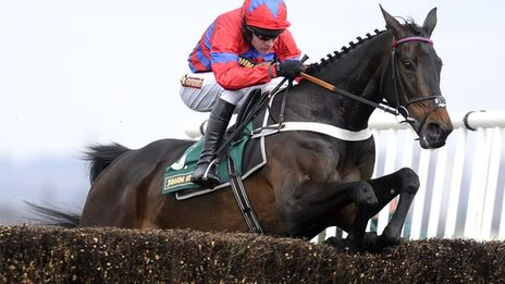 Sprinter Sacre in action at Aintree