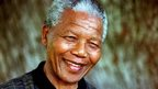 Former South African President Nelson Mandela is pictured in August 1996 (file photo)