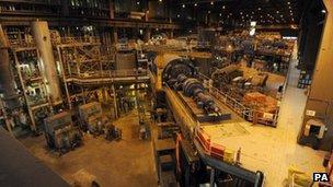 Drax biomass plant