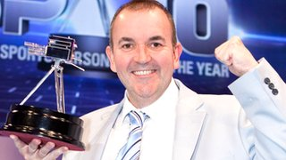 Phil Taylor at 2010 Sports Personality of the Year awards