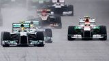 Cars in the 2013 Malaysian Grand Prix