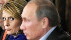 Vladimir Putin and former RIA Novosti Editor-in-Chief Svetlana Mironyuk