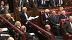 Baroness Butler-Sloss addresses a busy Lords chamber