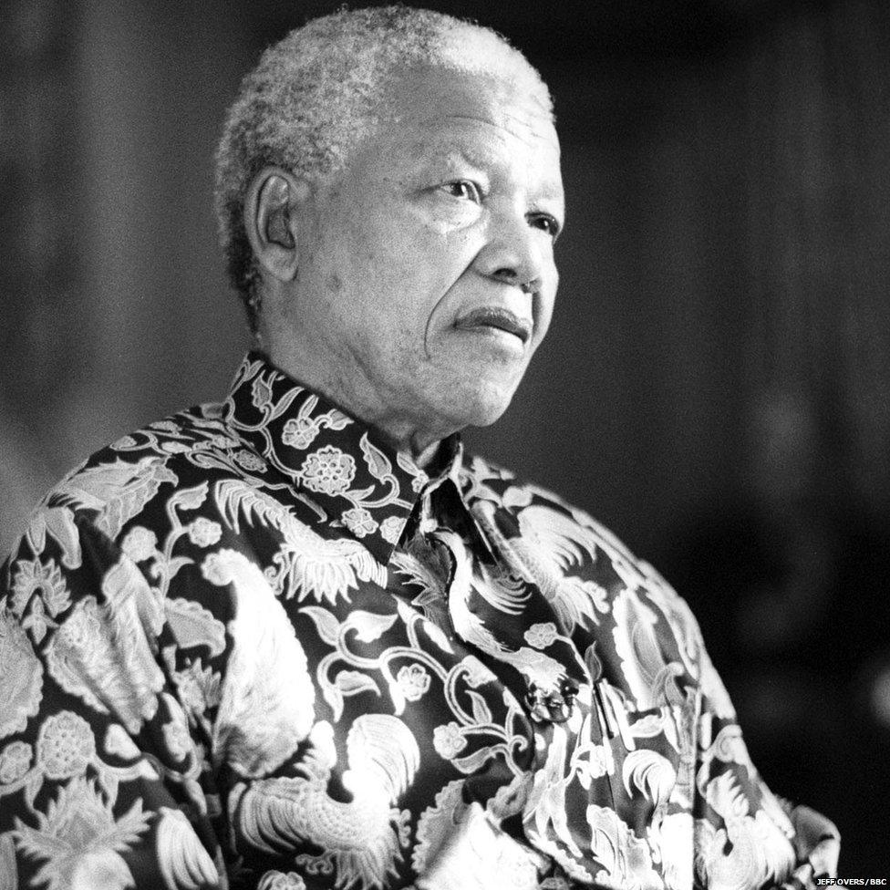 Nelson Mandela 1997