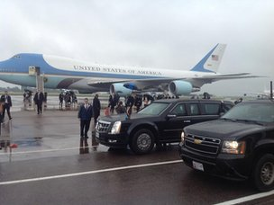 Air Force One plane