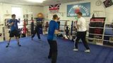 Sandy Row boxing club