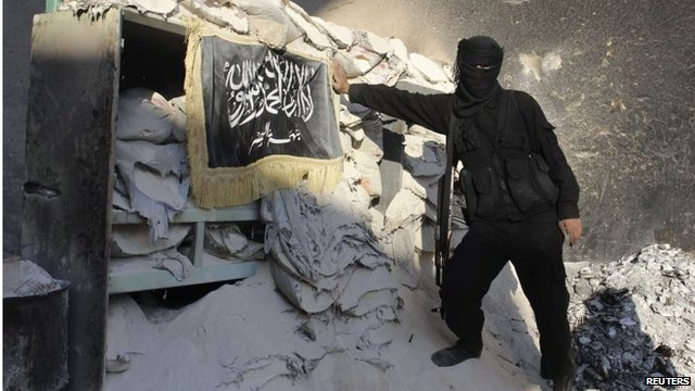 Al-Nusra Front fighter in Aleppo (file photo)