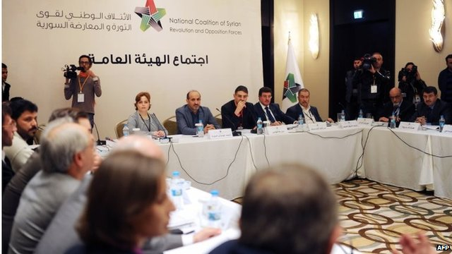 Syrian National Coalition meeting in Istanbul (09/11/13)