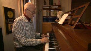 Dementia sufferer Sigwald Lindblom Tveit
