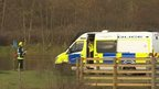 Emergency services at Lakeside Country Park