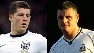 Ross Barkley and Paul Gascoigne