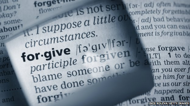 Dictionary definition of the word forgive