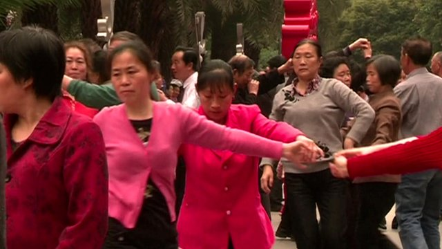Dancing in China