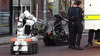 Army bomb disposal robots