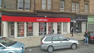 Ladbrokes on Crichton Place in Edinburgh
