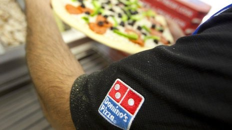 Domino's Pizza worker