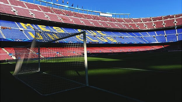 The Nou Camp Barcelona