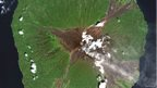 A picture of Manam Volcano in Papua New Guinea