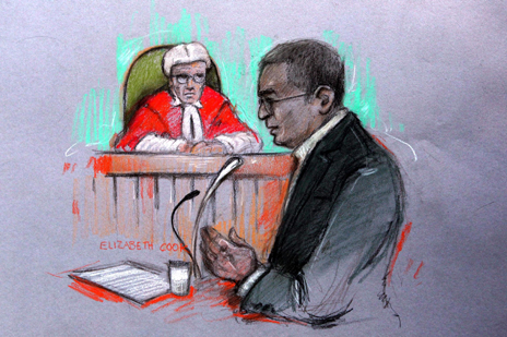 Bhayani in court