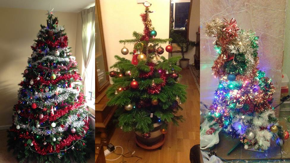 Pictures your christmas tree snaps cbbc newsround How to decorate a christmas tree without tinsel