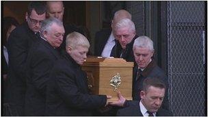 John McGarrigle's funeral