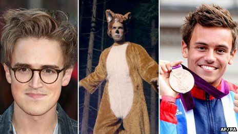 Tom Fletcher, Ylvis and Tom Daley