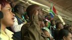Ivan Mpofu at the stadium