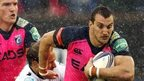 Sam Warburton in action for the Cardiff Blues