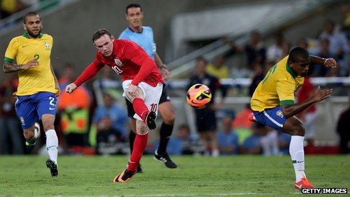 England v Brazil