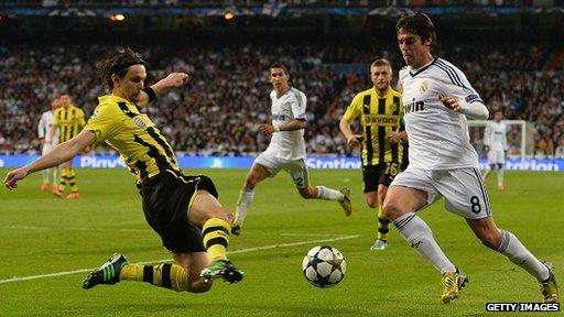 Real Madrid v Borussia Dortmund