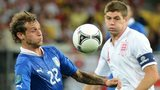 Alessandro Diamanti and Steven Gerrard