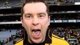 Oisin McConville celebrates the 2011 All-Ireland club triumph