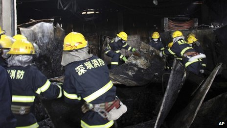 China fruit market blaze kills 16...