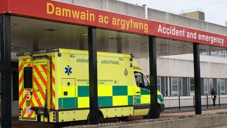 Glan Clwyd A&E department