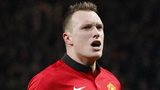 Manchester United's Phil Jones celebrates scoring