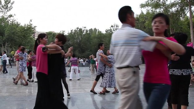 Dancing Grannies in China