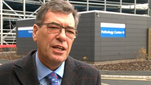Chief executive of New Cross Hospital in Wolverhampton, David Loughton