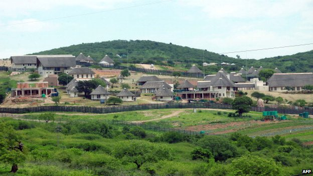 Jacob Zuma's home in Nkandla