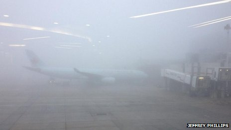 Fog at Heathrow