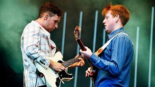Two Door Cinema Club at T in the Park
