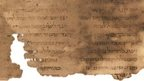 Fragment of the Hebrew of the book of Ben Sira