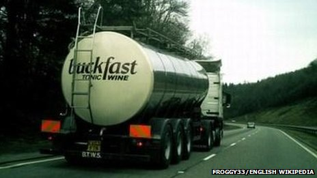 Buckfast lorry