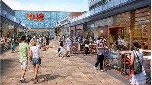Artist's impression of new leisure complex
